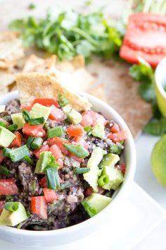 Black Bean Cilantro Dip This black bean cilantro dip is the  Mein Blog: Alles rund um Genuss & Geschmack  Kochen Backen Braten Vorspeisen Mains & Desserts!