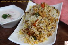 Biryani is one of the most popular Indian dishes that is relished globally. Veg Biryani, Longest Recipe, Biryani Recipe, Rice Grain, Indian Dishes, Food Videos, Love Food, Curry, Vegetarian