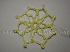Присцилла - мотив 19 снежинка Irish Crochet, Crochet Lace, Squares, Crochet Necklace, Book, Pattern, Bobs, Crochet Collar, Crocheted Lace