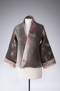 Lovely jacket made from felted alpaca