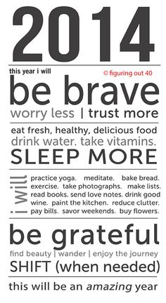 UPDATED! 2014 Printable Manifesto. by figuringout40 on Etsy, $2.14