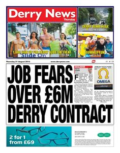 Derry News 21 August 2014 edition - Read the digital edition by Magzter on your iPad, iPhone, Android, Tablet Devices, Windows 8, PC, Mac and the Web.