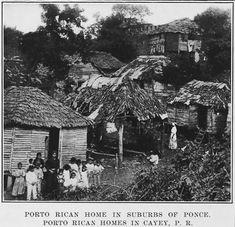 Porto Rican homes in Cayey, P.R.