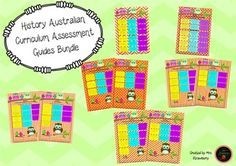History Australian Curriculum Assessment Guide Bundle