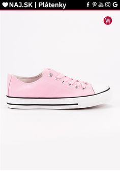 Klasické ružové tenisky J.Star Chuck Taylor Sneakers, Chuck Taylors, Shoes, Fashion, Moda, Zapatos, Shoes Outlet, Fashion Styles, Shoe