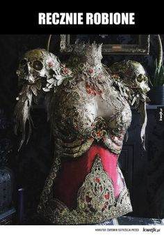 """catchymemes: """"Glorious armor by Hysteria Machine """" ::cries in fantasy:: Fantasy Armor, Fantasy Dress, Mode Steampunk, Female Armor, Halloween Disfraces, Character Outfits, Costume Design, Cool Outfits, Dress Up"""