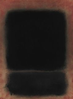 Mark Rothko, Untitled, 1959, oil and paper laid on canvas.