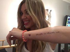 did u get my @fanjoyco album package yet?! my #breatheinbreatheout @tattify tattoo & the @31bits bracelet!!!