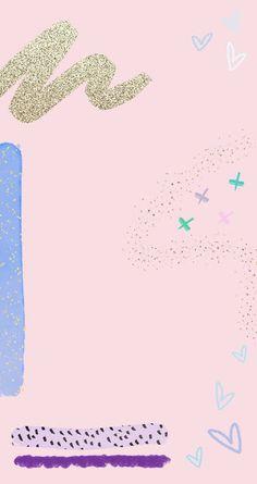 New Wallpaper Iphone Pink Pattern Backgrounds Ideas Wallpaper Tumblr Lockscreen, New Wallpaper Iphone, Whatsapp Wallpaper, Trendy Wallpaper, Pastel Wallpaper, Cute Wallpapers, Wallpaper Backgrounds, Instagram Background, Instagram Frame