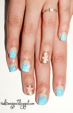 Beach Nail Art .x.  http://www.naildeesignz.blogspot.co.uk/2014/06/beach-nail-art.html