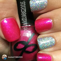 repost via @instarepost20 from @koolaid19862005 New mani! I used Disturbed Potions Cherry Milk by @playwanet and Cha-Ching! By @pipedreampolish @disturbedpotionsfanpage #indie #disturbedpotions #pipedreampolish #indiepolish #indieswatch #sparkles #supportindiemakers #lacquer #lovemymani #lovemynails #lacquerlover #notd #nails #nailpolish #nailsofinstagram #nailsthatsparkle #nubs #polish #pinkpolish #holo #glitternails #glitter #silver #swatch #dpfanpage #dptopcoat #dp…