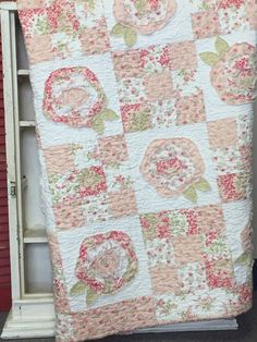 Shabby Cottage Quilt Kit by myreddoordesigns on Etsy