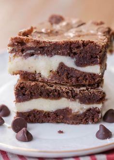 Cream Cheese Brownies (Cheesecake Brownie Recipe)