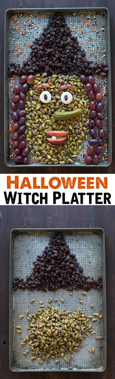 This Halloween Witch Platter is easy to make and completely edible!! Perfect for a Halloween party!
