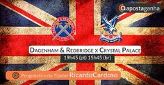 Pick para o #Dagenham & #Redbridge vs #CrystalPalace – Amigáveis de um #Tipster #ApostaGanha com + de 10% #ROI . #apostas #futebol #friendly #PremierLeague #footy #soccer #football #footballmatch #bets #sports #sportsbetting #gambling