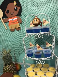 Ocean Jello - The Ocean is Calling! - Kenzie's Third Birthday | CatchMyParty.com