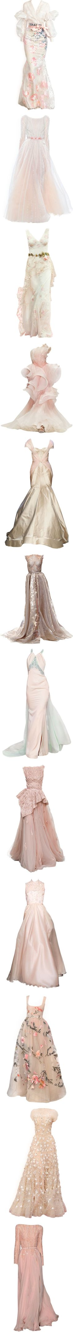 Haute Couture - Gowns (Pink, Purple) by giovanna1995 on Polyvore featuring yellow, Pink, purple, gown, hautecouture, women's fashion, dresses, gowns, satinee and long dresses