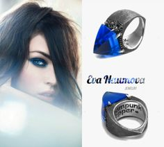 Steampunk Blue Pepper http://evanaumova.ru/steampunk-blue-pepper-ring