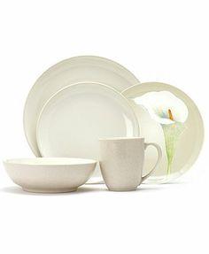 "Noritake \""Colorwave Cream\"" Dinnerware Collection"