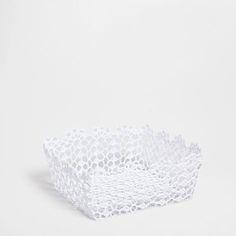 CROCHET BASKET - Baskets - Decor & pillows | Zara Home United States