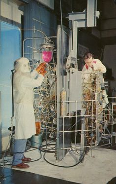 "Preparation Of ""Hot Cell"", Brookhaven National Laboratory by SwellMap on Flickr."