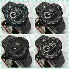 Dziner original model PRG6000,d= 4.3cm,water resistant,black rubber-red,blue,white and all black  170.000
