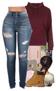 """I love timb's"" by liveitup-167 ❤ liked on Polyvore featuring Marc by Marc Jacobs, MICHAEL Michael Kors, Topshop and Timberland"