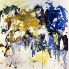 River III by Joan Mitchell