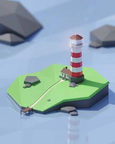Blender Models, Blender 3d, Game Level Design, Game Design, 3d Poster, Isometric Design, Low Poly 3d Models, Game Background, 3d Puzzles