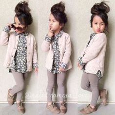 Cute kids fashions outfits for fall and winter 32 #littlegirloutfits #kidsfashion,