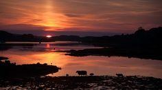 Sunset in Dunvegan, Skye.  photo by Mark Nesbitt