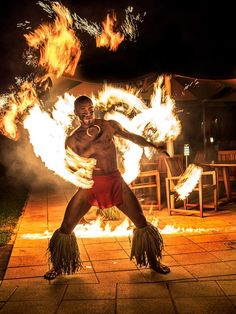Olympus Visionary Jay Dickman captured the ancient art of Samoa fire dancing with the M. Like fire dancing, the lens delivers coordination and masterful timing. Captured with the OM-D Mark II. Easter Island Travel, Once Were Warriors, Hawaiian Men, South Pacific, French Polynesia, Ancient Art, Olympus, Professional Photographer, Digital Photography