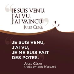 #Citation du jour ! Bench, Mugs, Facebook, Creative, T Shirt, Women, Julius Caesar, Lyrics, D Day