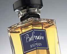 Balmain de Balmain, a floral chypre. Very green and peppery in the top notes. Stays dark green on me all the way through.     Top notes are currant buds, pepper, galbanum and bergamot; middle notes are iris, jasmine, rose and violet; base notes are sandalwood, patchouli, oakmoss and vetiver.