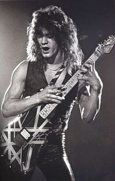 The King of Ten fingers and Six strings...Mr. Eddie Van Halen!!