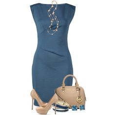 A fashion look from February 2014 featuring Rebecca Taylor dresses, Sergio Rossi pumps and Michael Kors handbags. Browse and shop related looks.
