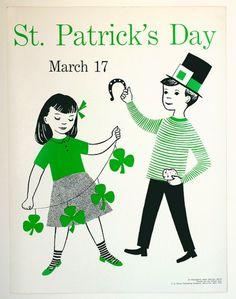 Vintage St Patricks Day