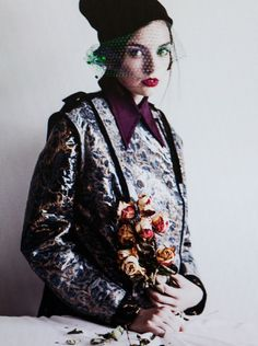 The Many Sittings of Mme Boldov | Sergio Mejia #photography | Bite 05 Fall Winter 2012