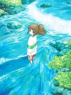 Spirited Away davidcharlesfoxexpressionism.com #studioghibli #hayaomiyazaki…
