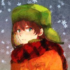 Kyle in Snowstorm – VK