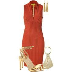 Designer Clothes, Shoes & Bags for Women Classic Outfits, Chic Outfits, Fashion For Petite Women, Womens Fashion, Haute Couture Outfits, Capsule Wardrobe Women, Copper Dress, Dolly Fashion, Gala Dresses