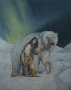 Greg Manchess chose East, by one of his favorite contemporary illustrators, Stephen T. Johnson.