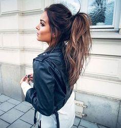 fanny lyckman brunett hair style