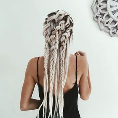 """""""edgy braids for an edgy mood """""""