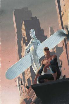 Silver Surfer: Requiem Vol.1 #2 Cover By: Esad Ribic.