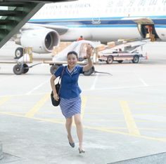So happy to get home China Southern Airlines, Airline Cabin Crew, Guangzhou, Flight Attendant, Like4like, How To Get, Happy, China China, Makeup