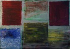 """Artist: Lijda Zuijderduijn; Acrylic on canvas. """" The four elements"""""""
