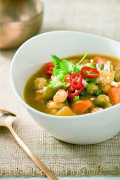 Vegetarian Chili Verde Recipe by Giada De Laurentiis