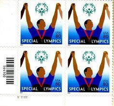 Special Olympics 4 x 80 Cent US Postage Stamps Scot # 3771 . $5.69. Special Olympics 4 x 80 Cent US Postage Stamps Scot # 3771