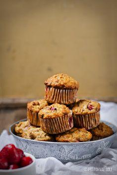 Mafini sa jagodama / Strawberry muffins